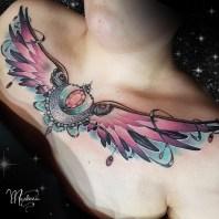 White Hill Tattoo. Tattoo by Marlena.