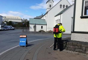 """Chew Away"" Campaign Keeps Reykavík's Streets Clean"