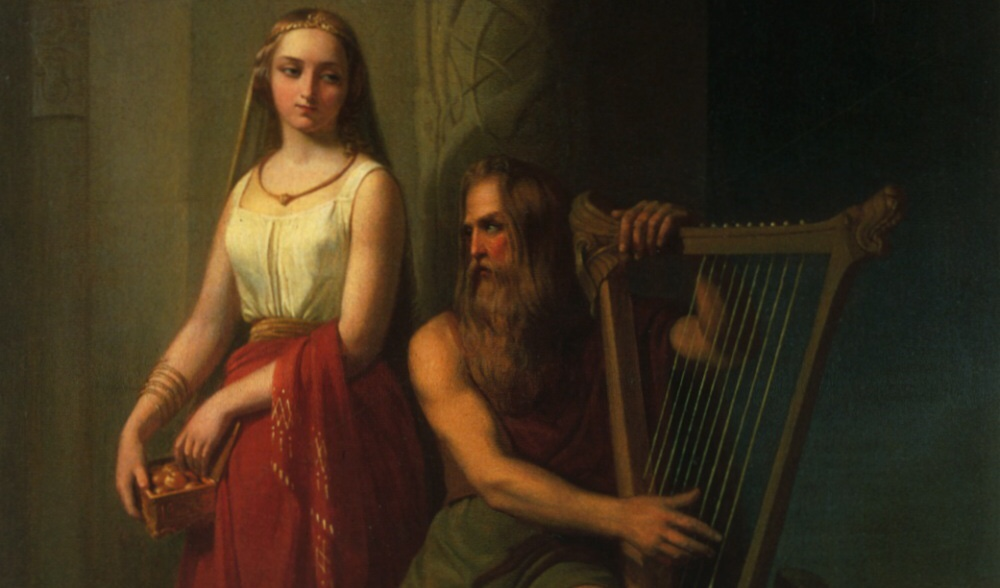 Gods Of Iceland: Bragi, The Harp Playing Hipster