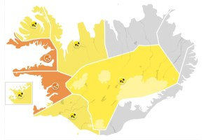 Yellow And Orange Storm Warnings Across Country