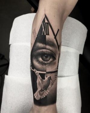 Apollo Ink. Tattoo by Adrian Chou.