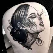 Memoria Collective. Tattoo by Emii Dun.