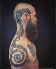 Íslenzka Húðflúrstofan. Tattoo by Habba.