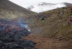 A Quarter Of The Population Have Visited The Volcanic Eruption