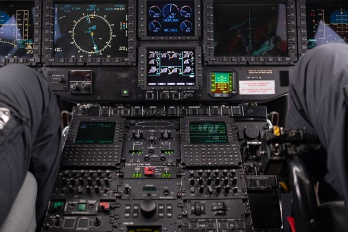 There is no shortage of controls and instruments - photo by John Pearson