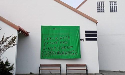 Mayor Of Hafnarfjörður Asks Artist Duo Remove Their Artwork In Hafnarborg