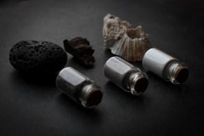 Ceramic glaze materials.