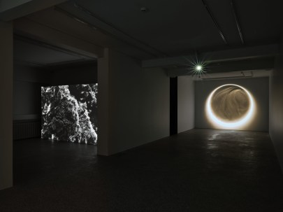'Fluorescent' and 'Enigma' by Sigurður Guðjónsson.