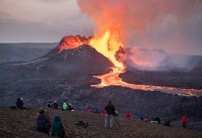 Archeologists Fight Lava To Map Out Ancient Monuments