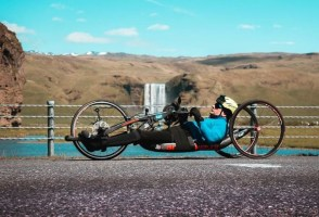 Man Cycles 400 Km By Hand In One Day