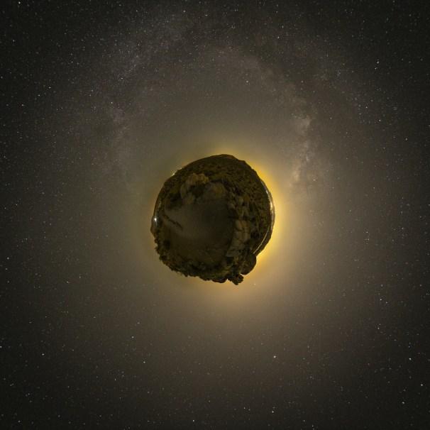 iceland meteor