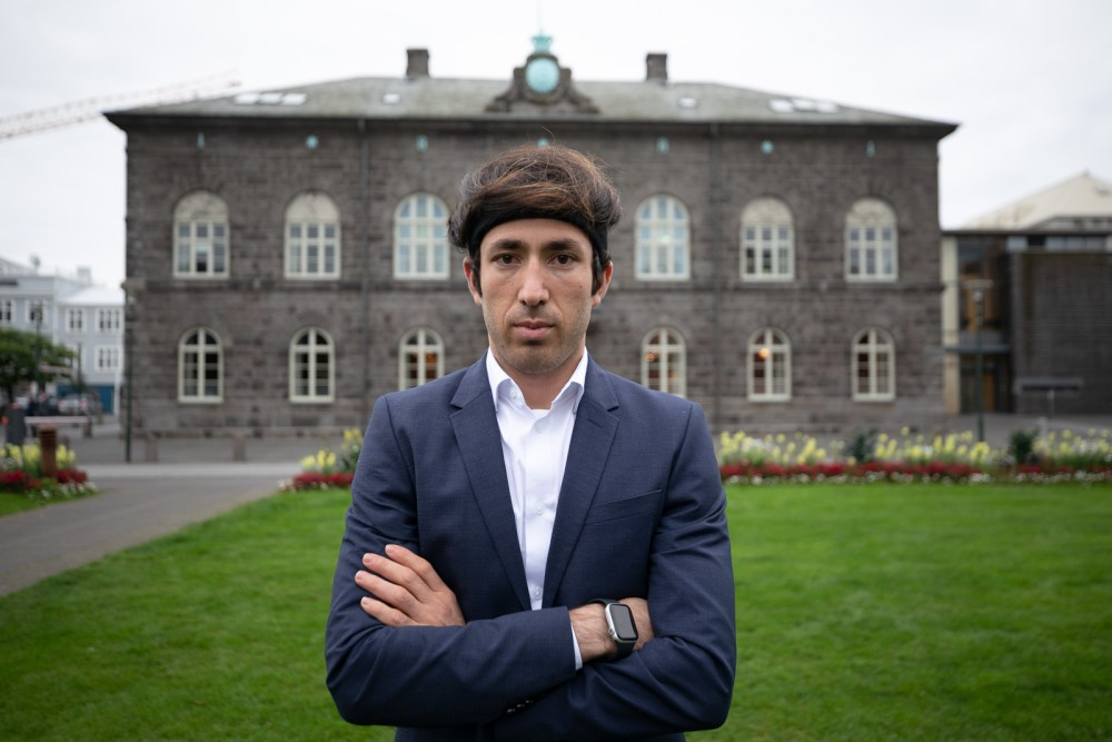 From Afghanistan To Iceland: An Activist Seeks To Help His Homeland