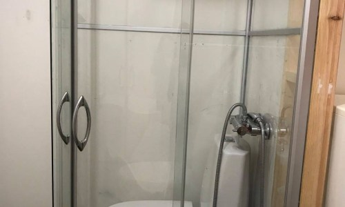 Rent 14 Square Metre Room For 100,000 – Toilet In The Shower!