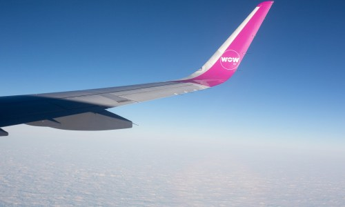 "WOW Air Christens New Airplane ""TF-GAY"""
