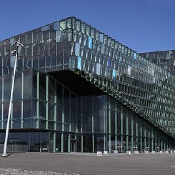 Rainy Guide: The Harpa Concert Hall