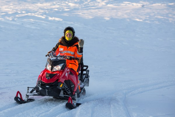 Snowmobile - Golden Circle
