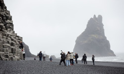 Reynisfjara Still Closed, Tourists Still Coming