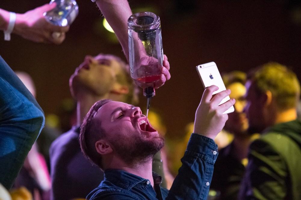 New-Years Partying 2016 in Reykjavík