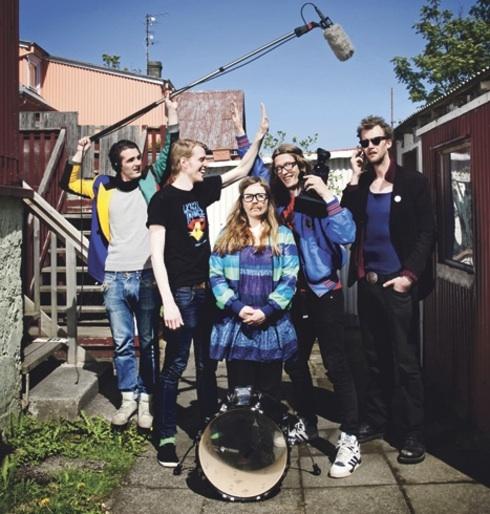 Kraumur and Backyard at Iceland Airwaves