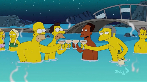 The Simpsons Go Iceland (feat. Sigur Rós) almost-LIVEBLOG!