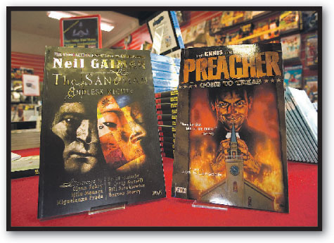 Before They Were Novelists: Preacher and The Sandman