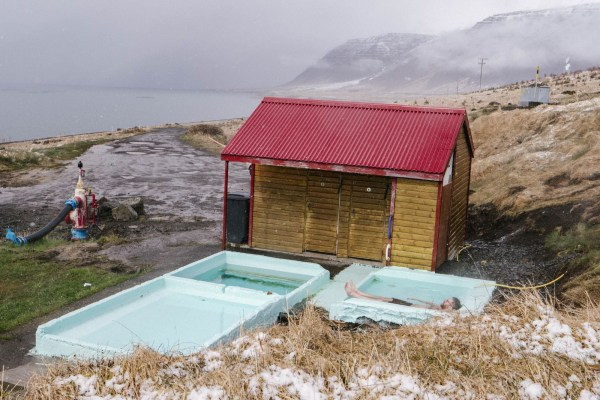 "Runner up for the ""Best bathing spots"" in the westfjords award"