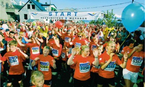 The Reykjavík Marathon Saturday August 20th
