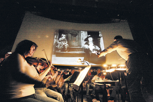 Chaplin's Genius Meets A Finely Tuned Orchestra