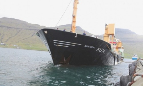 Faroese Receive Cold Welcome In Reykjavík Harbour