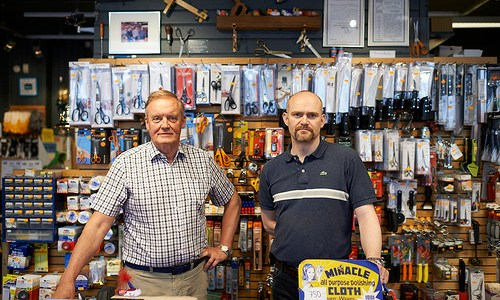 A Hardware Store Holds Its Own On Fleece Street