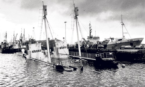 Wreck Of British Boat From WWII Found Off The Coasts Of Iceland