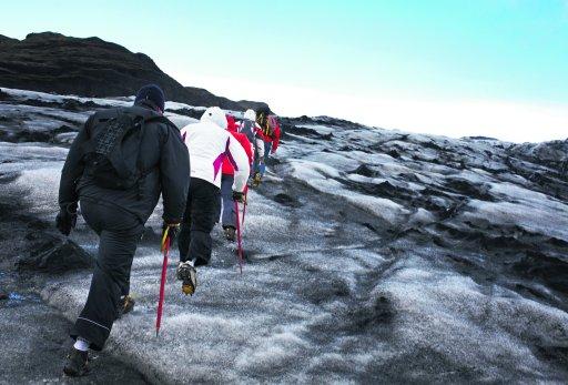 Stumbling Around Glaciers