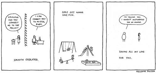 Comic by Hugleikur Dagsson, issue 13 2013