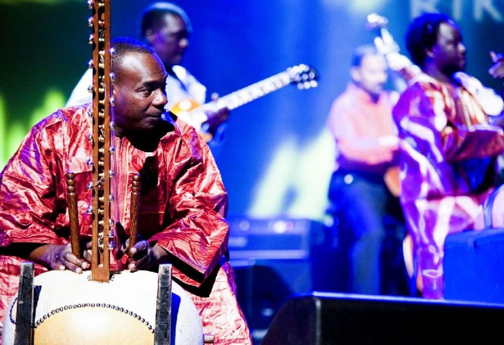 Afrocubism Harping at Harpa