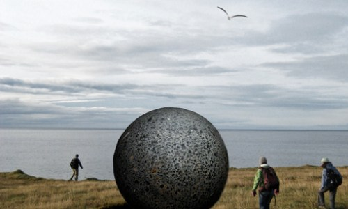 New Arctic Circle Landmark For Grímsey