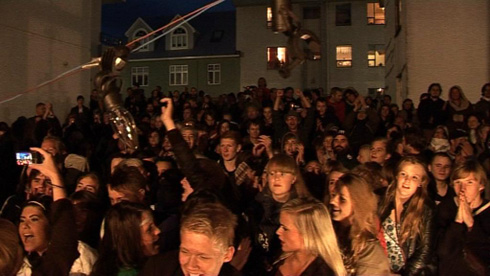 A Meeting of Iceland's hottest bands