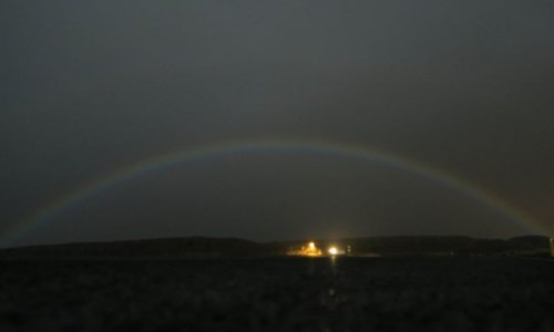 Double Moonbow Spotted In West Iceland