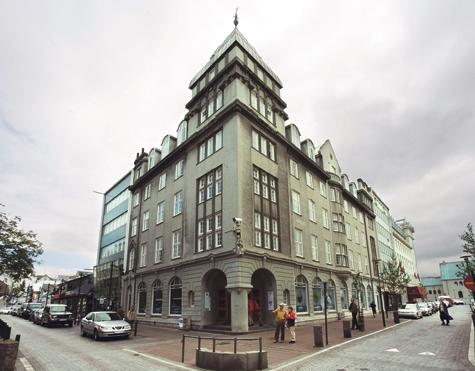 The Building that Shaped the CityAusturstræti 16