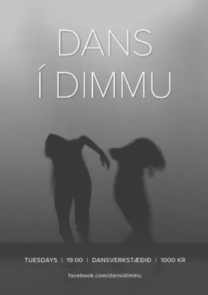 Dans Í Dimmu: Where The Shy Can Let Loose In Total Darkness
