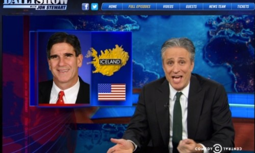 Jon Stewart: Iceland's Ambassadorial Nominee Has Never Been To Iceland