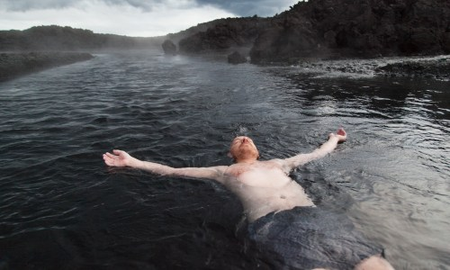 Treading New Ground: Swimming At Iceland's New Lava Field