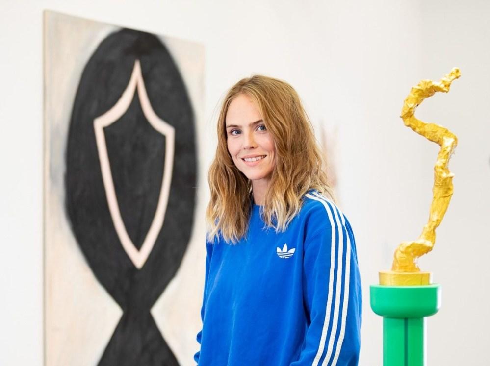 WINNING: Auður Ómarsdóttir Goes For Gold At Kling & Bang