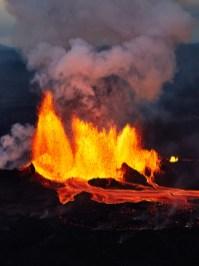 Holuhraun Eruption by Axel Sigurðarson could reykjavík erupt