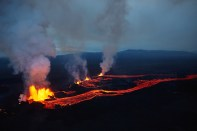 Axel Sigurðarson, eruption, eruptioniceland, Iceland, Volcano, Bárðarbunga, Bardarbunga, Holuhraun, Vatnajökull, Dyngjujökull, Glacier, ash, ashtag, danger, Civil Protection Department, Emergency Services,