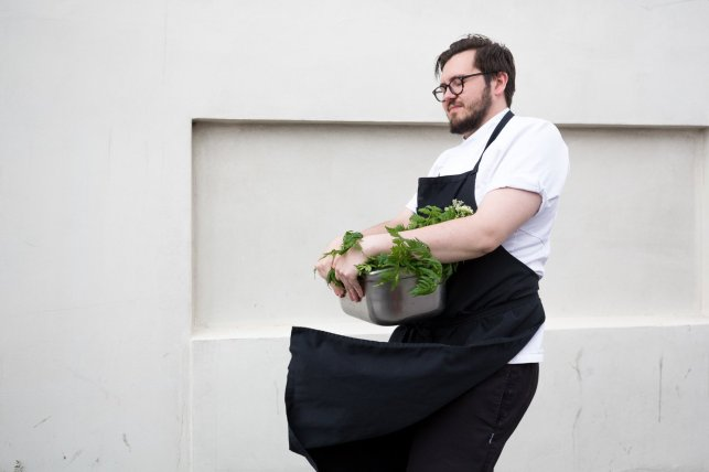 Arnar's attention to detail is well-known, as is his obsession with fresh ingredients. Carefully selected herbs grow just behind the restaurant. Arnar picks the best every morning in order to use them in the kitchen.