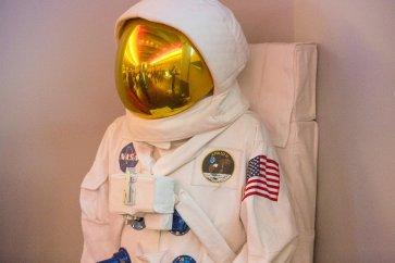 Replica of Apollo 11 sapace suit
