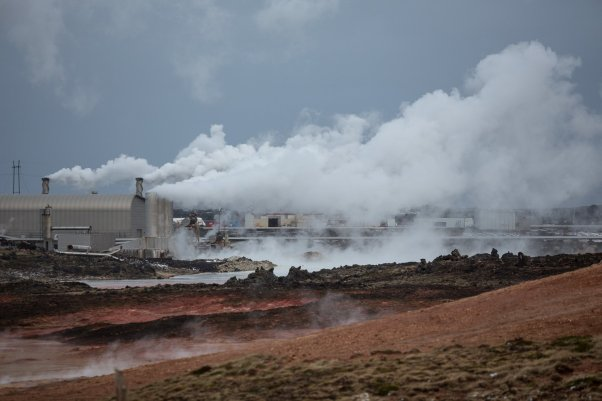Reykjanes Geothermal Power Plant at Gunnuhver bicnick