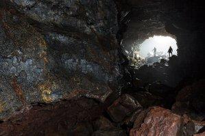 The Raufarhólsellir Cave by Art Bicnick