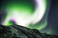 Northern Lights Art Bicnick