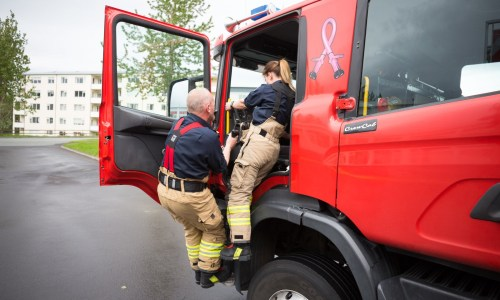 Hour of the Wolf: Training With Reykjavík's Firefighters